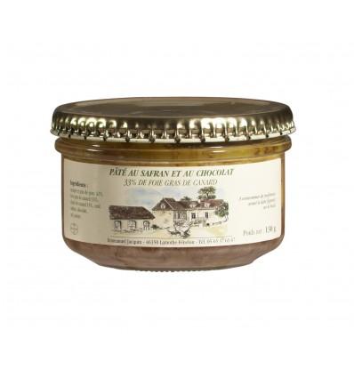 PATE SAFRAN CHOCOLAT 33% DE FOIE GRAS-JACQUIN - Maison Ferrero - Epicerie à Ajaccio