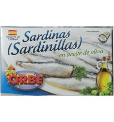 SARDINILLAS A L'HUILE D'OLIVE