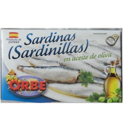 SARDINILLAS A L'HUILE D'OLIVE-ORBE - Maison Ferrero - Epicerie à Ajaccio
