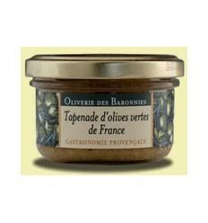 TAPENADE OLIVES VERTES 90gr -OLIVERIE DES BARONNIES - Maison Ferrero - Epicerie à Ajaccio