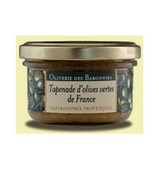 TAPENADE OLIVES VERTES FRANCE