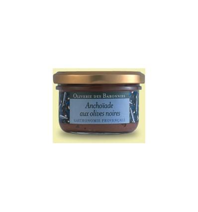 ANCHOIADE AUX OLIVES NOIRES -OLIVERIE DES BARONNIES - Maison Ferrero - Epicerie à Ajaccio