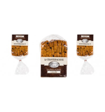 BISCOTTES GOURMANDES AU CHOCOLAT- CHANTERACOISE - Maison Ferrero - Epicerie à Ajaccio