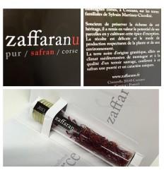 SAFRAN EN STIGMATES 0.3gr -ZAFFARANU - Maison Ferrero - Epicerie à Ajaccio