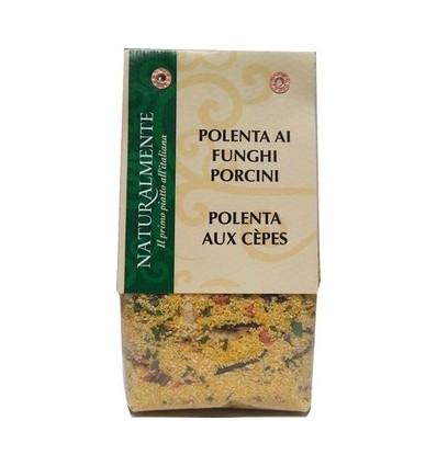 POLENTA AUX CEPES 300GR-NATURALMENTE - Maison Ferrero - Epicerie à Ajaccio
