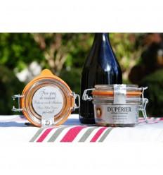 FOIE GRAS DE CANARD MI-CUIT POCHE AU VIN DE MADIRAND 120GR-DUPERIER ET FILS - Maison Ferrero - Epicerie à Ajaccio