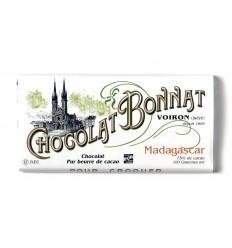 TABLETTE MADAGASCAR GRAND CRU HISTORIQUE-100gr BONNAT - Maison Ferrero - Epicerie à Ajaccio
