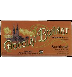 TABLETTE SURABAYA GRAND CRU LAIT-100gr BONNAT - Maison Ferrero - Epicerie à Ajaccio