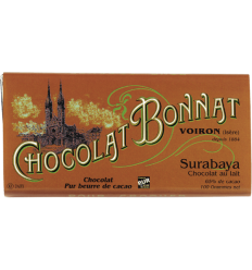 TABLETTE SURABAYA GRAND CRU LAIT-BONNAT