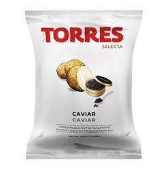 CHIPS AU CAVIAR 110GR - PATATAS TORRES - Maison Ferrero - Epicerie à Ajaccio