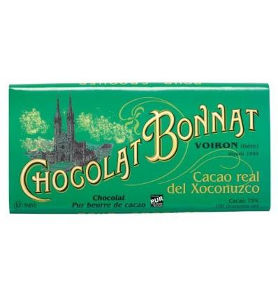 TABLETTE CACAO REAL DEL XOCONUZCO GRAND CRU D'EXCEPTION-100gr BONNAT - Maison Ferrero - Epicerie à Ajaccio