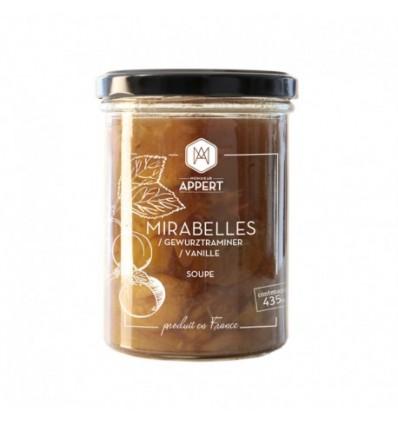 MIRABELLES AU GEWURZTRAMINER ET VANILLE -MR APPERT - Maison Ferrero - Epicerie à Ajaccio