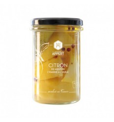 CITRONS DE MENTON CONFITS 314ml-MR APPERT - Maison Ferrero - Epicerie à Ajaccio