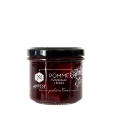 CHUTNEY DE POMME GROSEILLES ET EPICES 130ml-MR APPERT - Maison Ferrero - Epicerie à Ajaccio