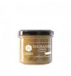 CHUTNEY DE RHUBARBE OIGNONS SAFRAN 130ml-MR APPERT - Maison Ferrero - Epicerie à Ajaccio