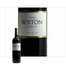 ROUGE CHATEAU BOSTON 2012 75CL-MARGAUX - BORDEAUX - Maison Ferrero - Epicerie à Ajaccio