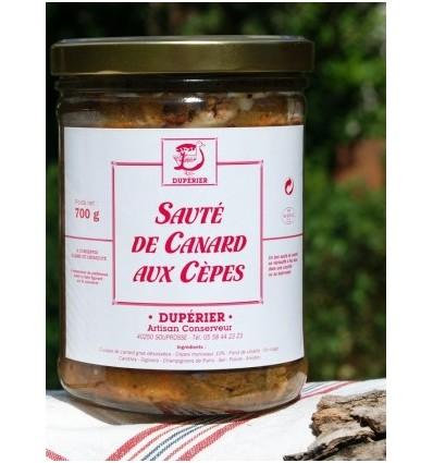 SAUTE DE CANARD AUX CEPES 700G-DUPERIER ET FILS - Maison Ferrero - Epicerie à Ajaccio