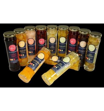GRIOTTES RAFRAICHIES AU KIRSH 210 ML- LES VERGERS DE CASCOGNE - Maison Ferrero - Epicerie à Ajaccio