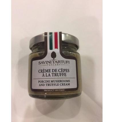 CREME DE CEPES A LA TRUFFE- SAVINI TARTUFI - Maison Ferrero - Epicerie à Ajaccio