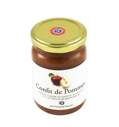 CONFIT DE POMMES CANDI ET VANILLE BOURBON-FLEURIET